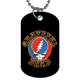 Dog Tag Necklace : Grateful Dead - Steal Your Face