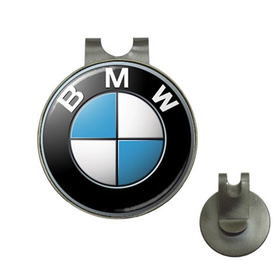 Golf Hat Clip with Ball Marker : BMW