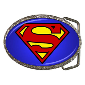 Belt Buckle : Superman Shield
