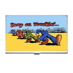 Card Holder : Keep on Truckin'