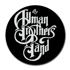 Mousepad (Round) : Allman Brothers Band