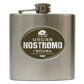 Liquor Hip Flask (6oz) : USCSS Nostromo