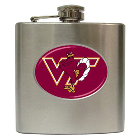 Liquor Hip Flask (6oz) : Virginia Tech Hokies