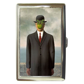 Cigarette Case : Rene Magritte - The Son of Man