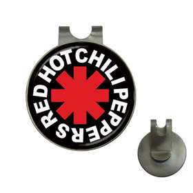 Golf Hat Clip with Ball Marker : Red Hot Chili Peppers