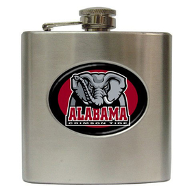 Liquor Hip Flask (6oz) : Alabama Crimson Tide
