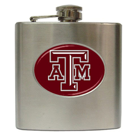 Liquor Hip Flask (6oz) : Texas A&M Aggies