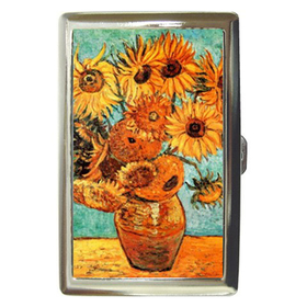 Cigarette Case : Vincent Van Gogh - Sunflowers