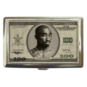 Cigarette Case : Tupac Shakur - One Hundred-Dollar Bill