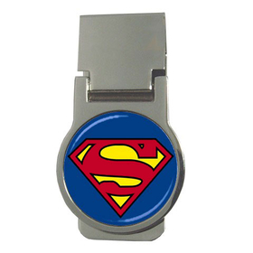 Money Clip (Round) : Superman Shield