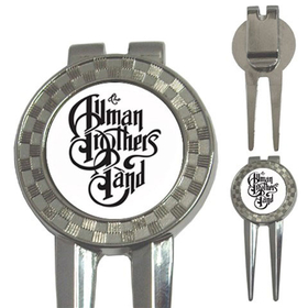 Golf Divot Repair Tool : Allman Brothers Band (white-black)