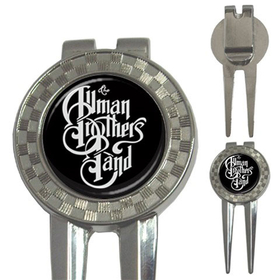 Golf Divot Repair Tool : Allman Brothers Band (black-white)