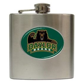 Liquor Hip Flask (6oz) : Baylor Bears