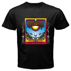 Black T-Shirt : Grateful Dead - Aoxomoxoa