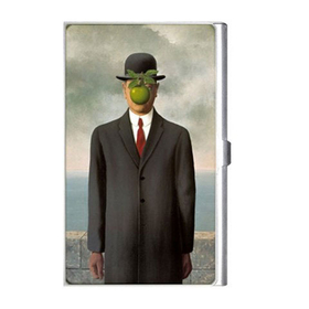 Card Holder : Rene Magritte - The Son of Man