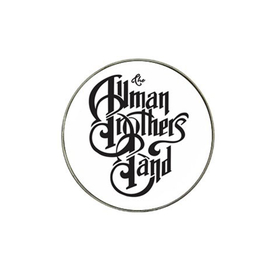 Golf Ball Marker : Allman Brothers Band (white-black)