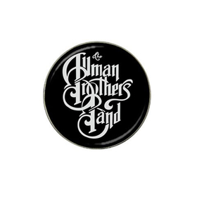 Golf Ball Marker : Allman Brothers Band (black-white)