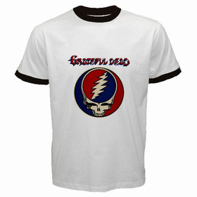 Ringer T-Shirt : Grateful Dead - Steal Your Face