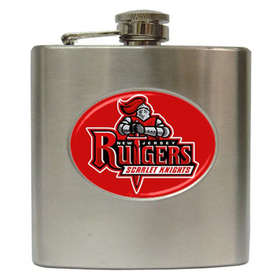 Liquor Hip Flask (6oz) : Rutgers Scarlet Knights