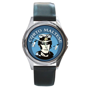 Silver-Tone Watch : Corto Maltese