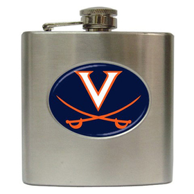 Liquor Hip Flask (6oz) : Virginia Cavaliers