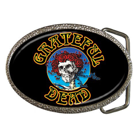 Belt Buckle : Grateful Dead - Skull & Roses