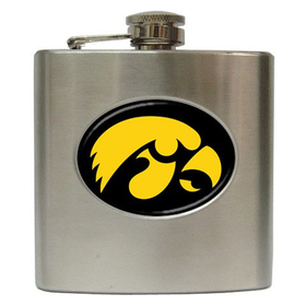 Liquor Hip Flask (6oz) : Iowa Hawkeyes