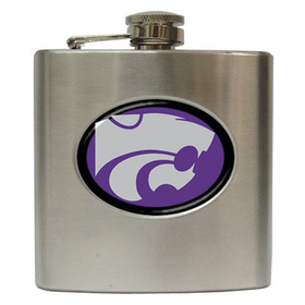 Liquor Hip Flask (6oz) : Kansas State Wildcats