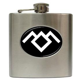 Liquor Hip Flask (6oz) : Twin Peaks - Owl Cave