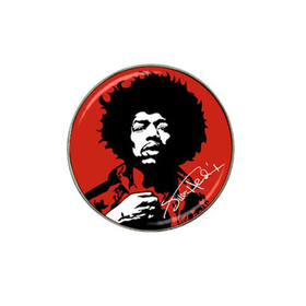 Golf Ball Marker : Jimi Hendrix
