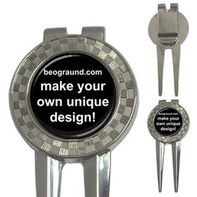 Golf Divot Repair Tool - Custom Design