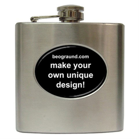 Liquor Hip Flask (6oz) - Custom Design