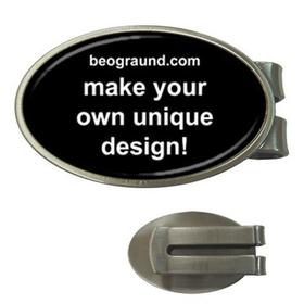 Money Clip (Oval) - Custom Design