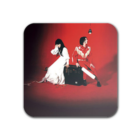 Magnet : White Stripes - Elephant
