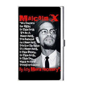 Card Holder : Malcolm X
