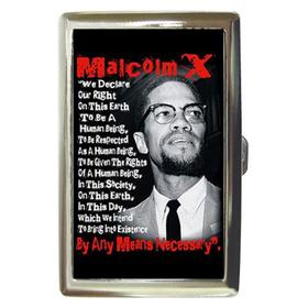 Cigarette Case : Malcolm X