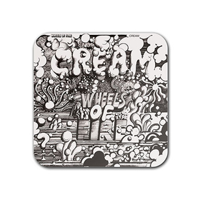 Magnet : Cream - Wheels of Fire
