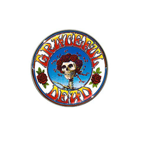 Golf Ball Marker : Grateful Dead - Skull & Roses