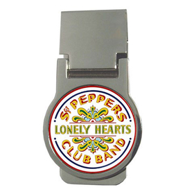 Money Clip (Round) : Beatles - Sgt. Pepper's Lonely Hearts Club Band