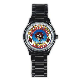 Casual Black Watch : Grateful Dead - Skull & Roses
