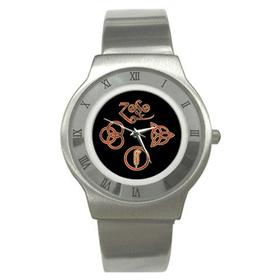 Roman Dial Watch : Led Zeppelin Symbols