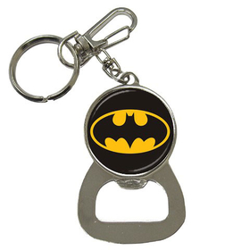 Bottle Opener Keychain : Batman Shield
