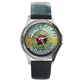 Silver-Tone Watch : Grateful Dead - American Beauty