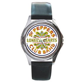 Silver-Tone Watch : Beatles - Sgt. Pepper's Lonely Hearts Club Band