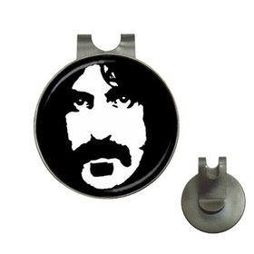 Golf Hat Clip with Ball Marker : Frank Zappa