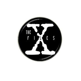 Golf Ball Marker : X-Files (black-white)