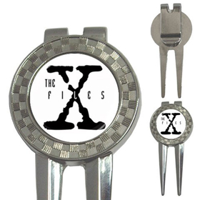Golf Divot Repair Tool : X-Files (white-black)