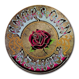 Mousepad (Round) : Grateful Dead - American Beauty