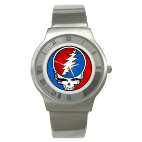 Roman Dial Watch : Grateful Dead - Steal Your Face