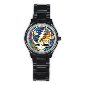 Casual Black Watch : Grateful Dead - Steal Your Face - Cosmic